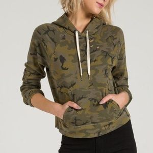 N:Philanthropy | Camo Gamble Distressed Hoodie